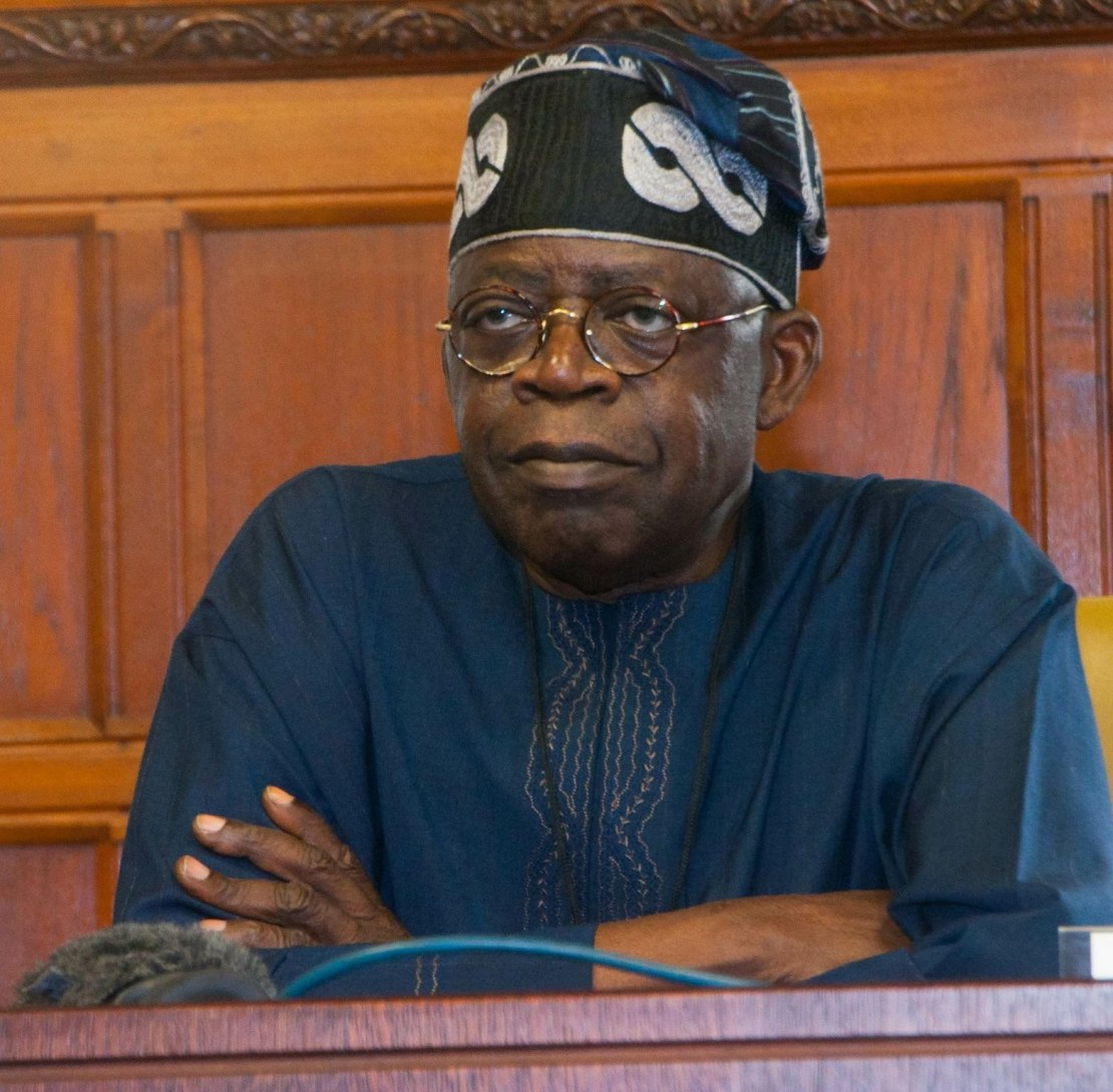 Bola Tinubu, the former governor of Lagos state is the National leader of the ruling party (Premium Times)