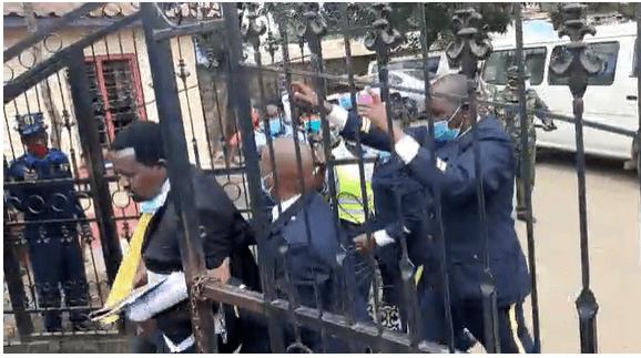 Chaos as Governor Ngilu's lawyers are matched out of Assembly grounds
