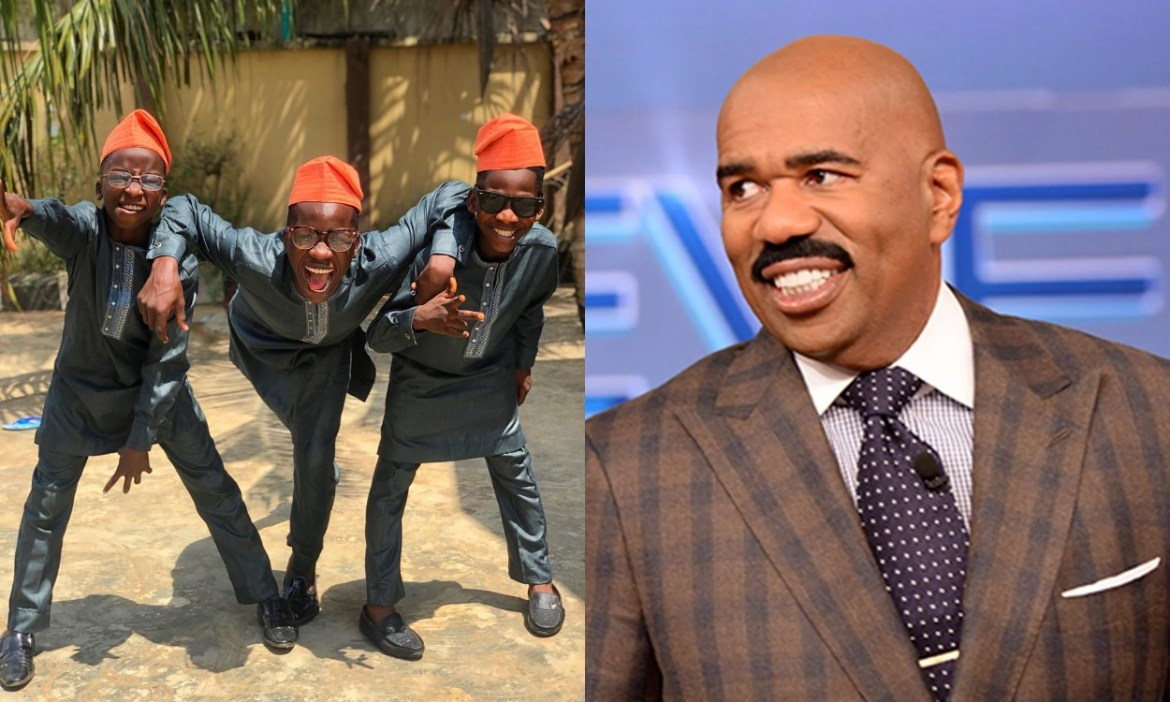 Ikorodu Bois were guest stars on Steve's TV Show [Instagram/@ikorodu_bois, Entertainment Weekly]