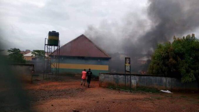 Gunmen set ablaze another police station in Abia, kill 2 cops