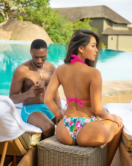 Juma Jux on vacation with Huddah Monroe, amid breakup reports with ...