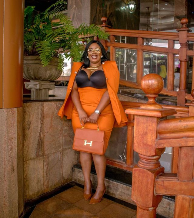 Neopomi Ng'ang'a. Celebrities lecture Huddah Monroe over mean comments on plus size women
