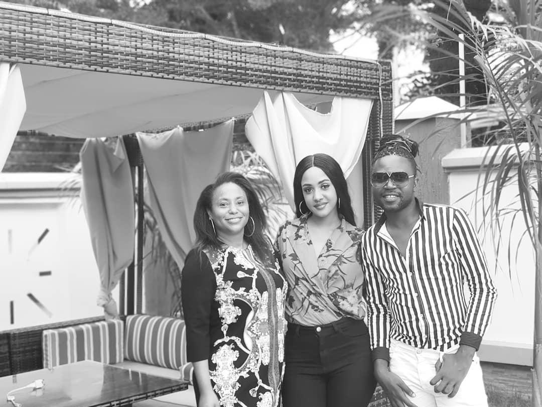 Tanasha Donna Meets Diamond family