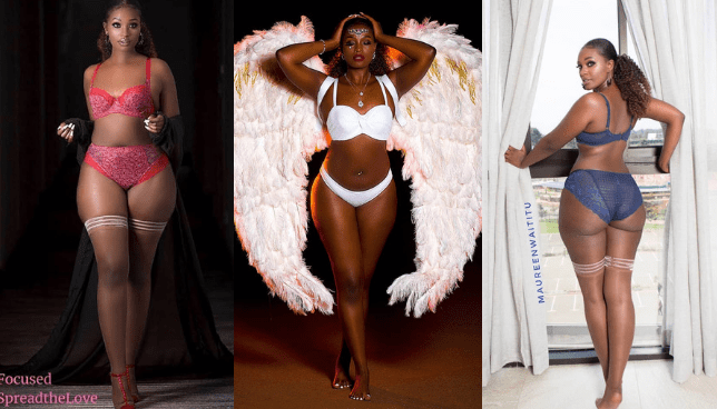 Maureen Waititu addresses her Lingerie and Bikini photos that caused a stir online