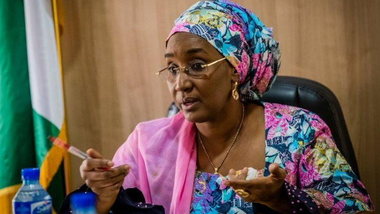 Hajiya Sadiya Farouq Minister Humanitarian Affairs Disaster Management Social Development