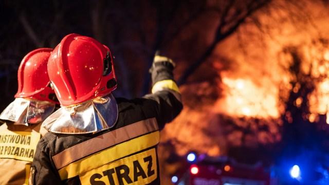 Małopolska: Płonie Nowa Biała. Na miejscu jest straż