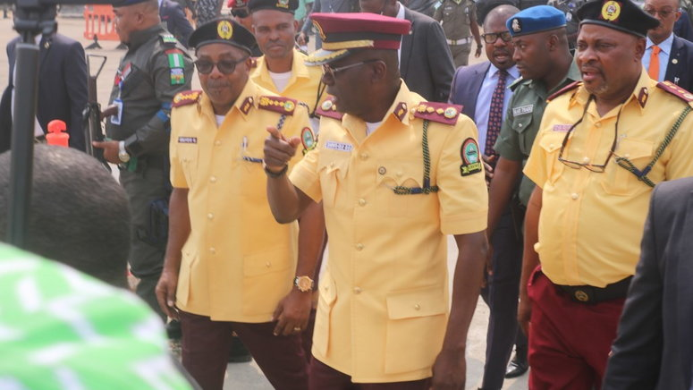 The Lagos State Traffic Management Authority (lastma) On Thursday Read The Riot Acts To Motorists To Remind Them That They Are Not Exempted From The Government's Lockdown Order.   The Authority