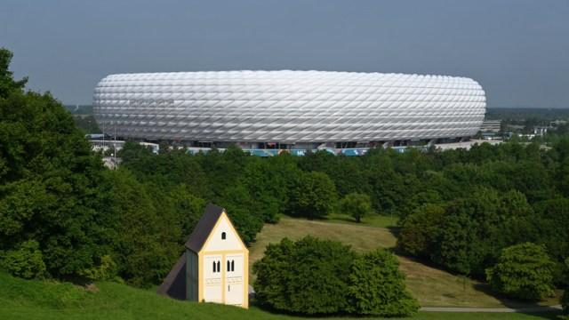 Euro 2020. Francja - Niemcy. Pożar na stadionie w Monachium