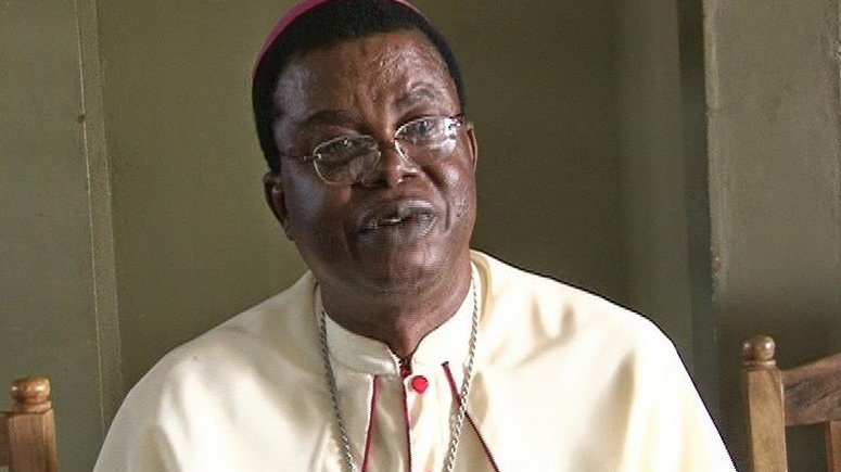 Bishop Paulinus Ezeokafor Of The Catholic Diocese Of Awka , Has Directed All Parish Priests Within His Domain To Provide Foodstuffs To poor Parishioners And Other Indigent Persons Around Them.