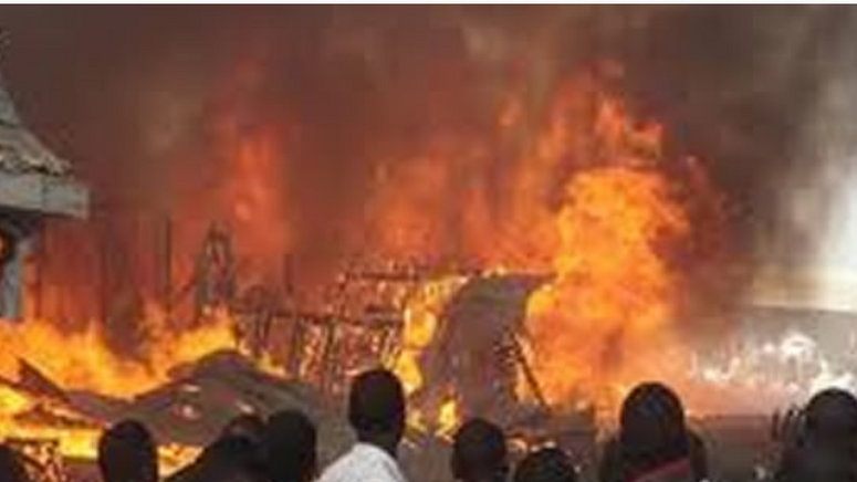 The Director General, Lagos State Emergency Management Agency (lasema), Dr Olufemi Oke Osanyintolu , Has Said That Fire Gutted Three Cars At The Airport Hotel In Lagos . Oke Osanyintolu Made Thi