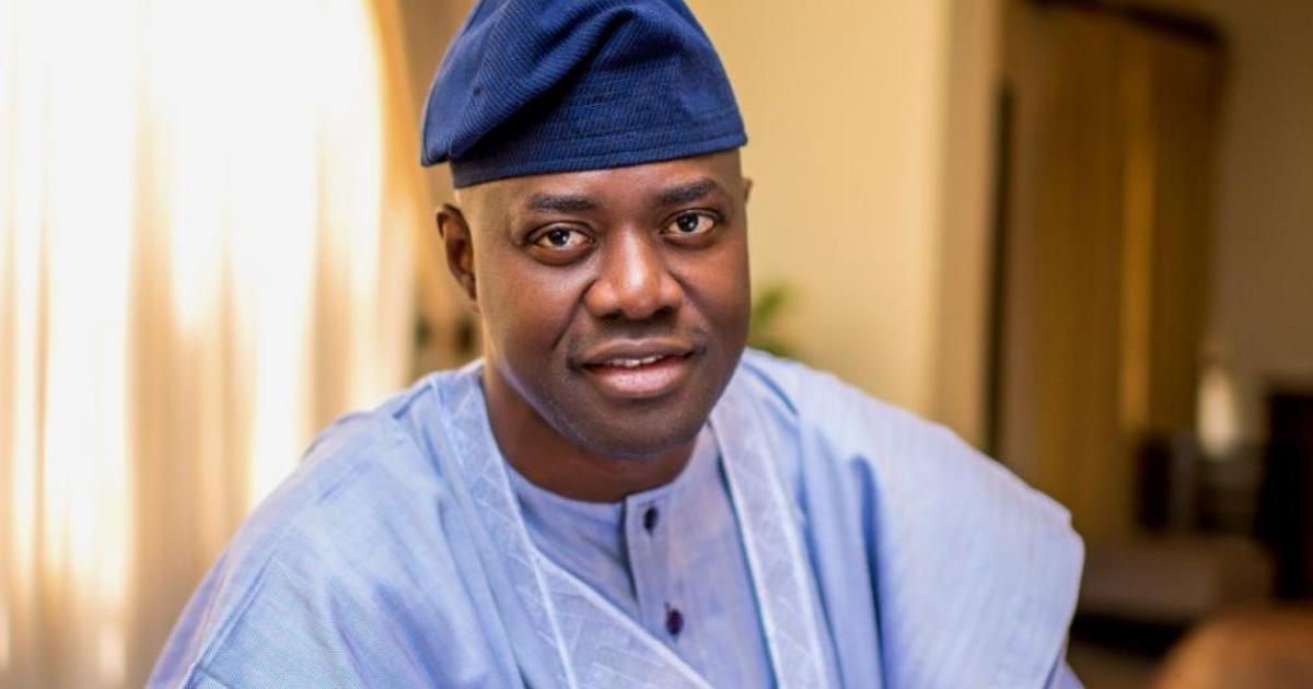 Gov Seyi Makinde Of Oyo State On Monday Said He  Tested Positive For The Coronavirus And Is In Self Isolation.  The Governor Revealed This In A Statement On His Ver