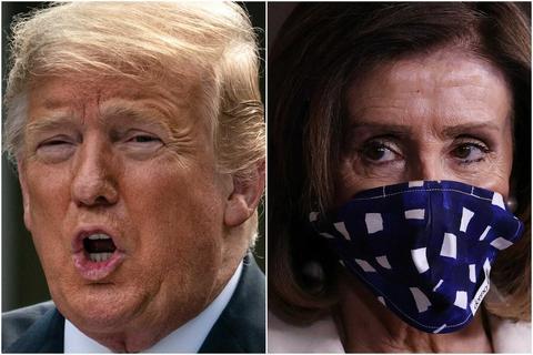 """NNN: Nancy Pelosi, présidente de la Chambre des représentants des États-Unis, a annoncé mercredi une politique de masque obligatoire qui oblige tous les membres et le personnel à porter un masque facial dans la chambre. """"Les membres et le personnel seront tenus de porter des masques dans les couloirs de la Chambre"""", a déclaré Pelosi […]"""
