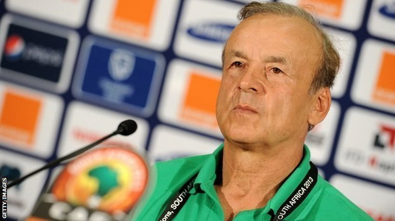 Super Eagles Technical Adviser Gernor Rohr