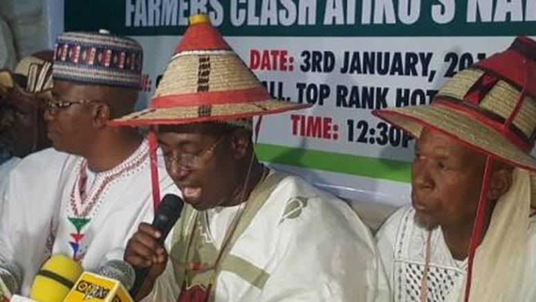 Alhaji Mohammed Hussaini Chairman Nasarawa State Chapter Miyetti Allah Cattle Breeders Association Nigeria Macban , Husaini