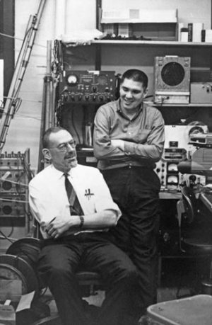 Bill Schevill and Bill Watkins © WHOI