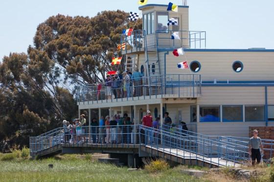 Environmental Volunteers center in the Palo Alto marsh