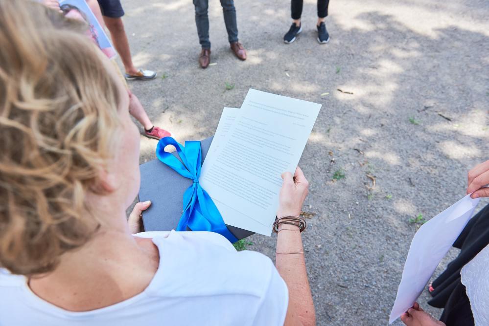 Ocean. Now! im Bundesministerium für Umwelt - Übergabe Petition an Svenja Schulze IX