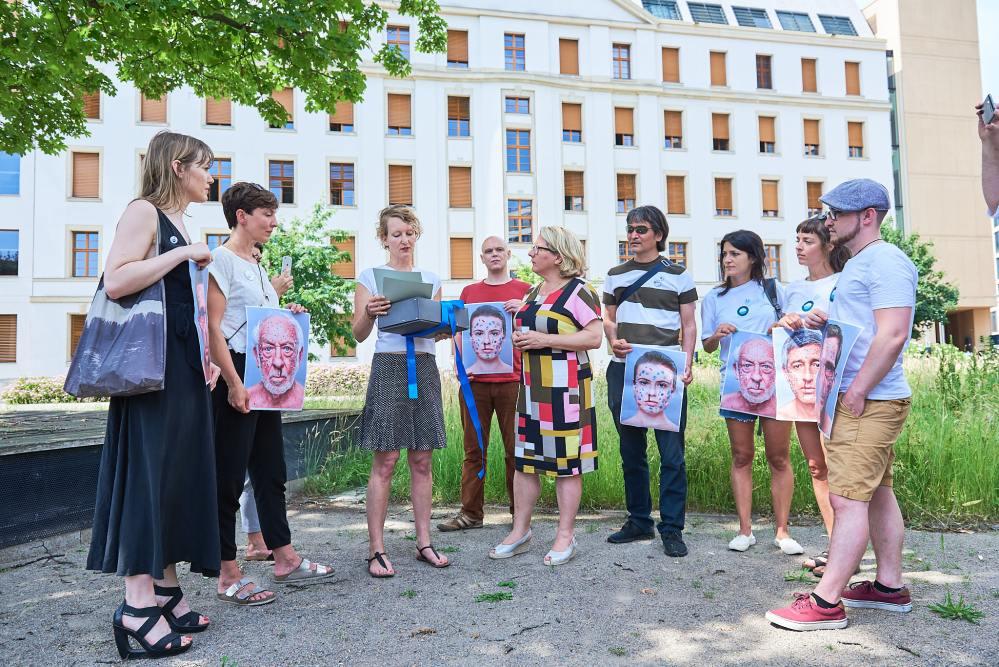 Ocean. Now! im Bundesministerium für Umwelt - Übergabe Petition an Svenja Schulze XI