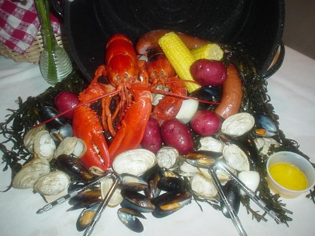 clambake pot