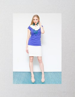 Pencil Skirt with Organic Cotton Jacket and Bamboo Rayon Tank
