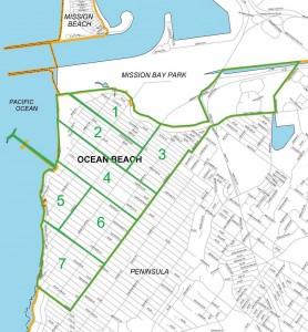 Ocean Beach Community Plan Area Map