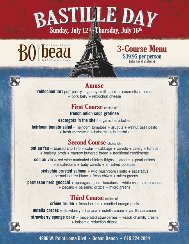 Bo Beau Kitchen Menu Wow Blog