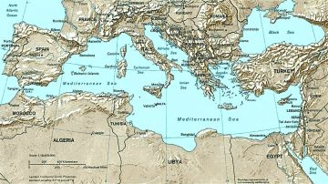 The Mediterranean and Black Seas