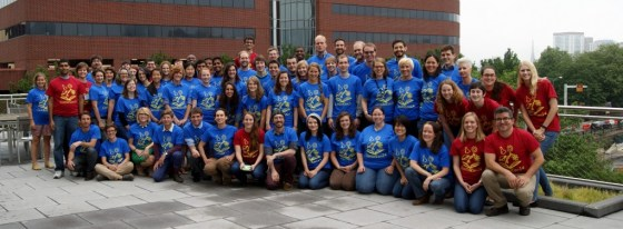 Group photo at the 2014 ComSciCon workshop