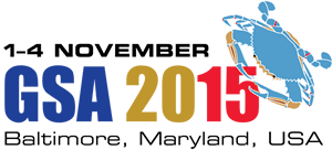 Figure 1: The annual Geological Society of America meeting happened this week in Baltimore.