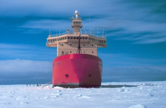 The Nathaniel B. Palmer, the icebreaker used in this study. Source: commons.wikimedia.org