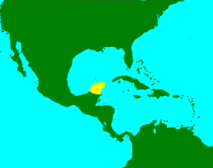 Figure 1: Yucatan Peninsula Image source: https://en.wikipedia.org/wiki/Yucatán_Peninsula