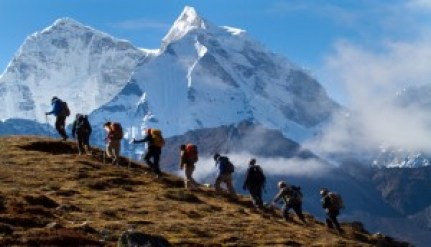 Figure 1. Hiking in Nepal (source: linkedin.com)