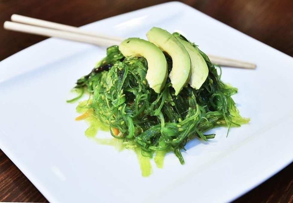food-salad-wakame-cooking-seaweed