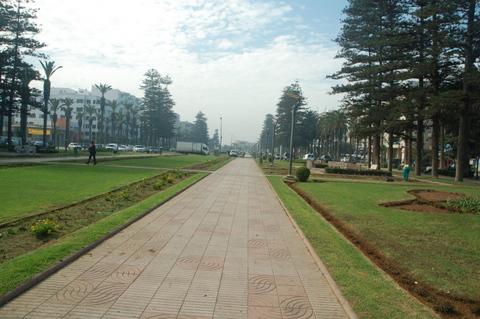WIde open Mohammedia Streets
