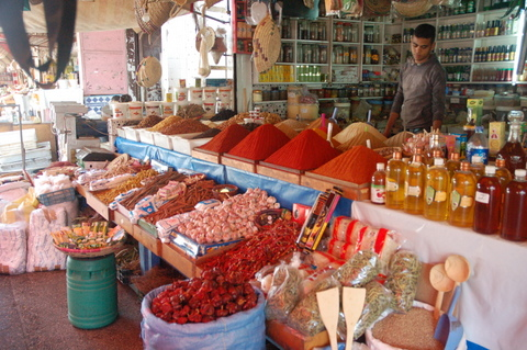 The Food and Spice Stalls
