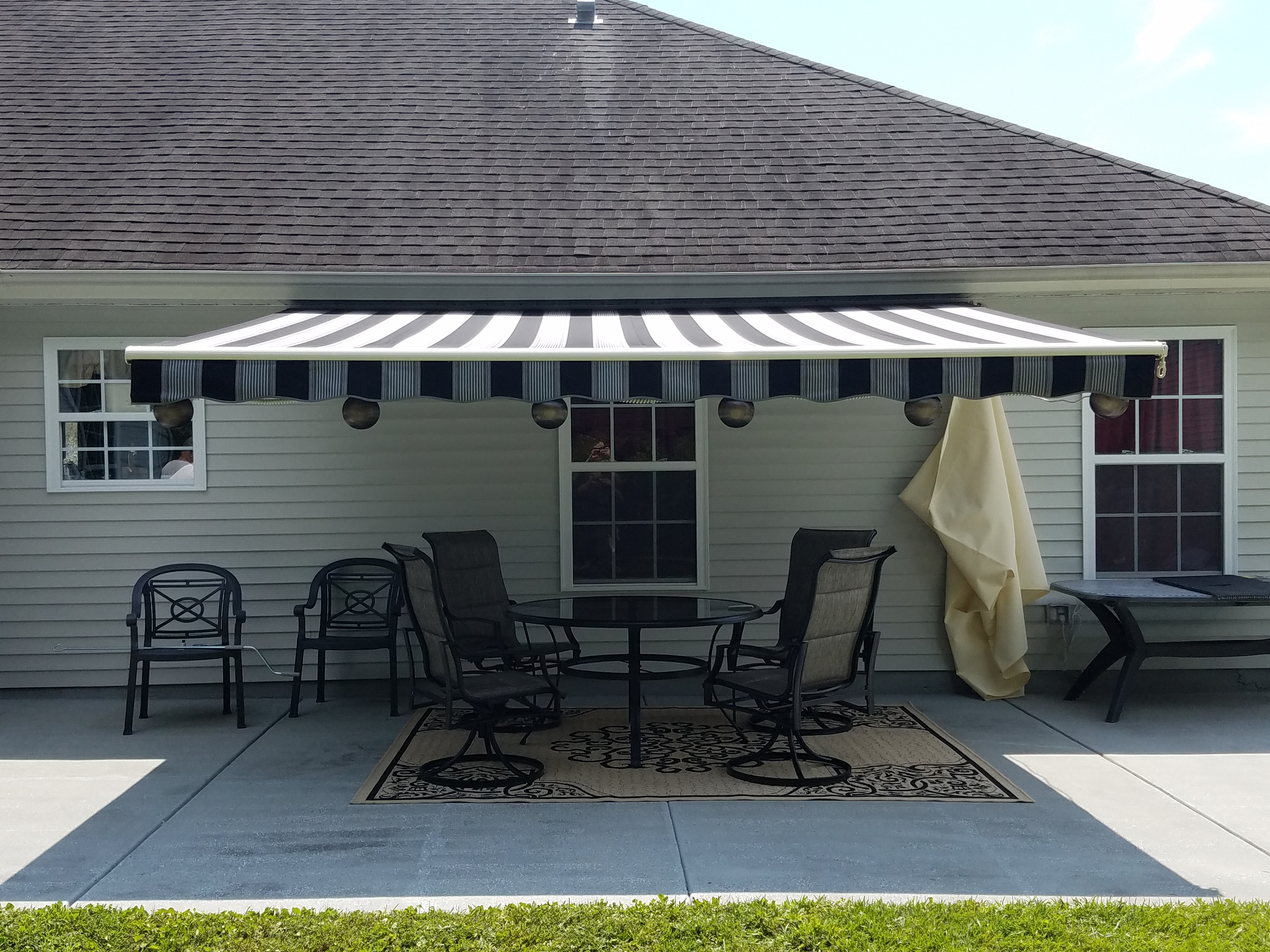 company awnings the retractable beach awning