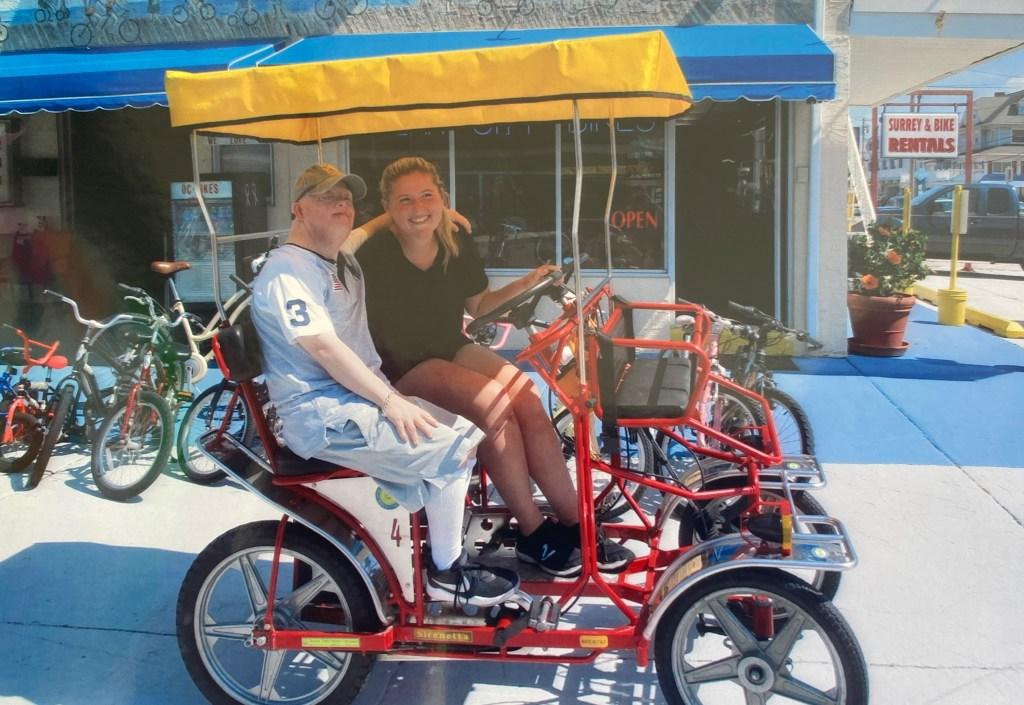 bike rental ocean city boardwalk photo gallery