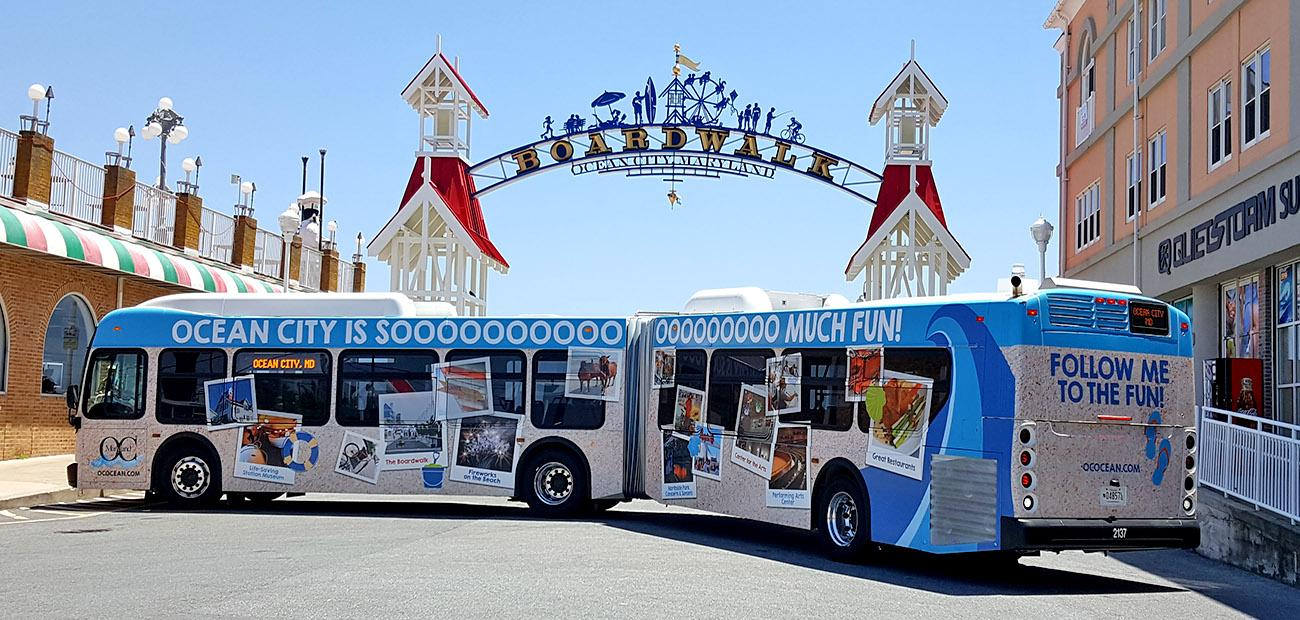 Ocean City Debuts New Bus Locator On New Year S Eve