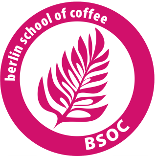 Das Logo der Berlin School of Coffee