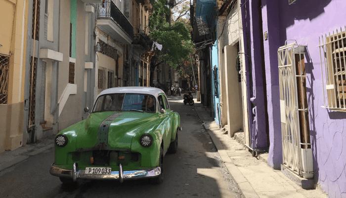 eine Straße in Havana