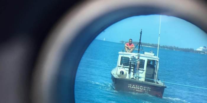 Ranger Boot durchs Bullauge