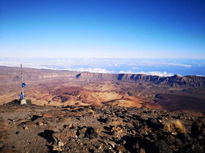 Gipfel Teide