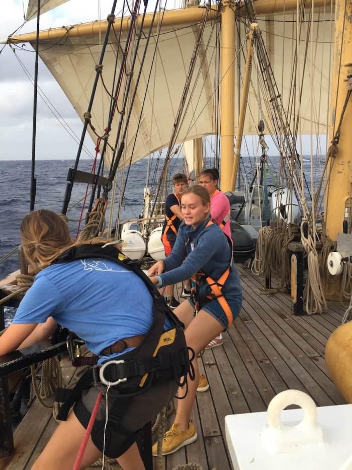 segelndes Klassenzimmer