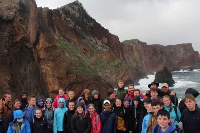 Die Gruppe auf Madeira