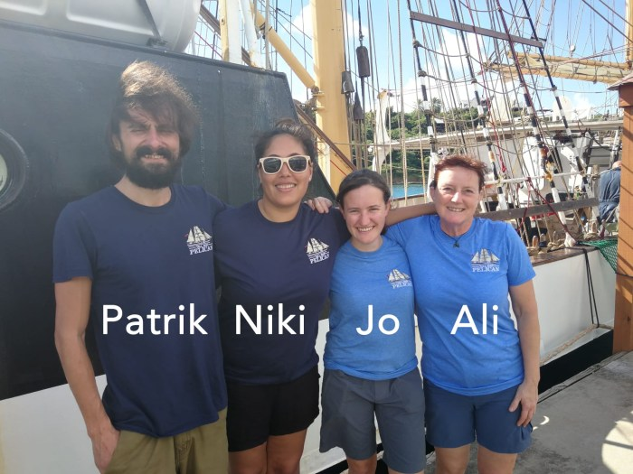 Vier neue Crewmember