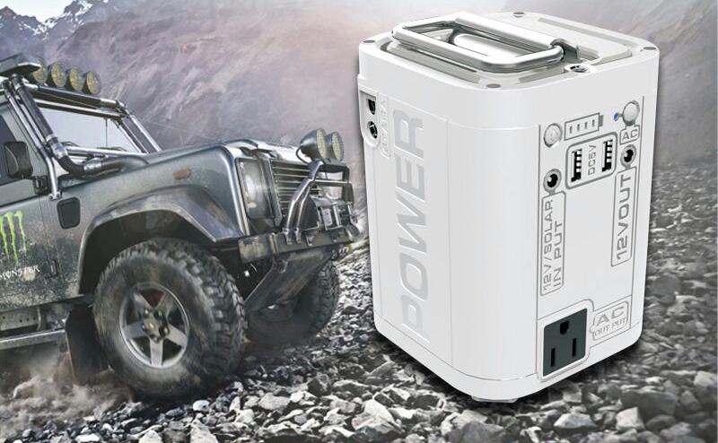 Stroom tijdens kamperen of varen met Portable Power Stations