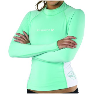 lavaskin long sleeve shirt green