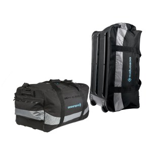 wheeled courier bag