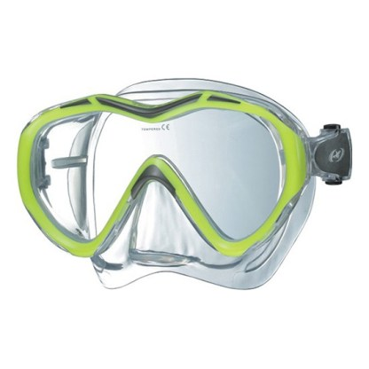 Problue Tiara Pro Diving Mask Yellow