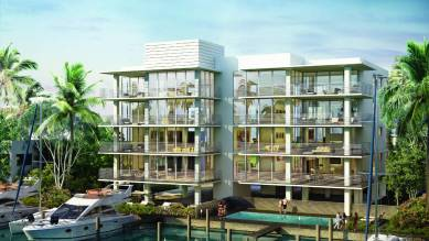 A rendering of AquaVue, one of the new boutique condominiums in Fort Lauderdale.